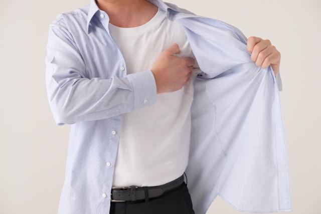 脇汗を抑える